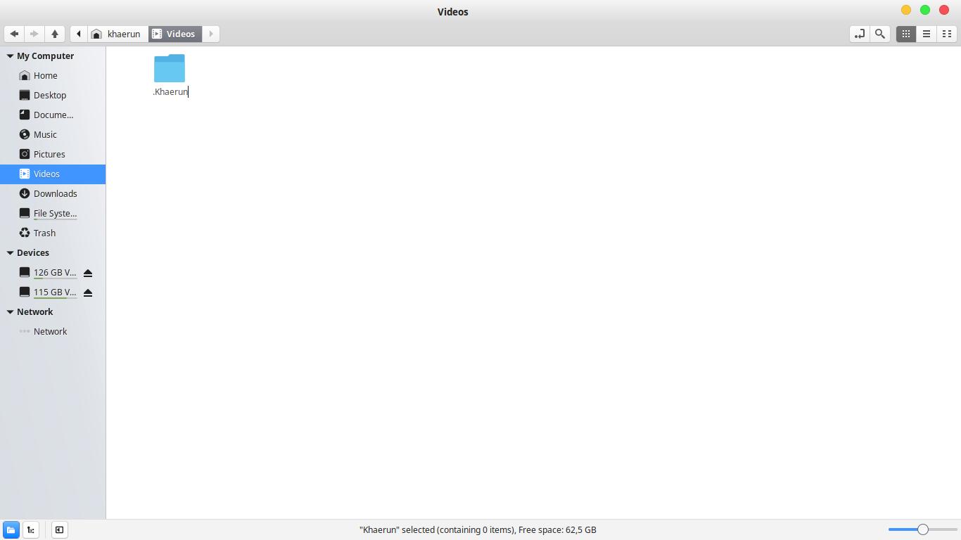 Gambar File Linux Sudah Muncul
