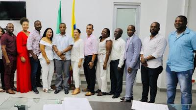 Gobernador del Chocó posesiona nuevo gabinete departamental