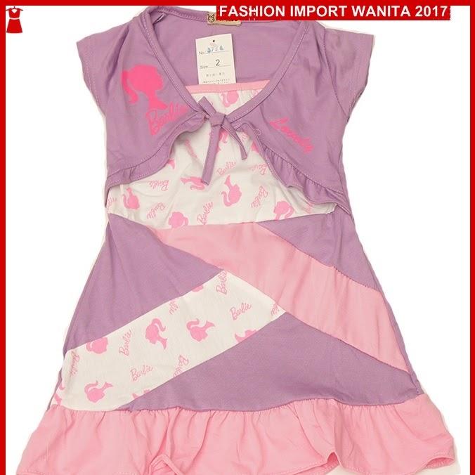 ADR168 Dress Wanita BB Ungu Import BMGShop