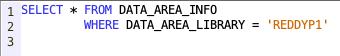 DATA_AREA_INFO view