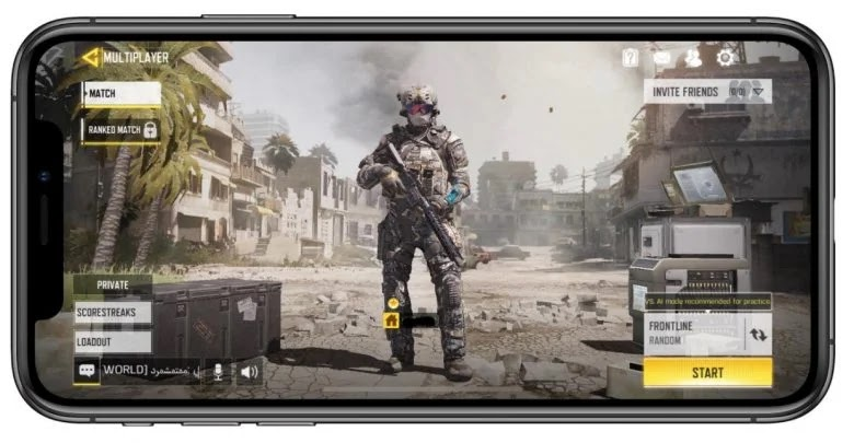 Minimum requirements to play Call of Duty Mobile on iOS
