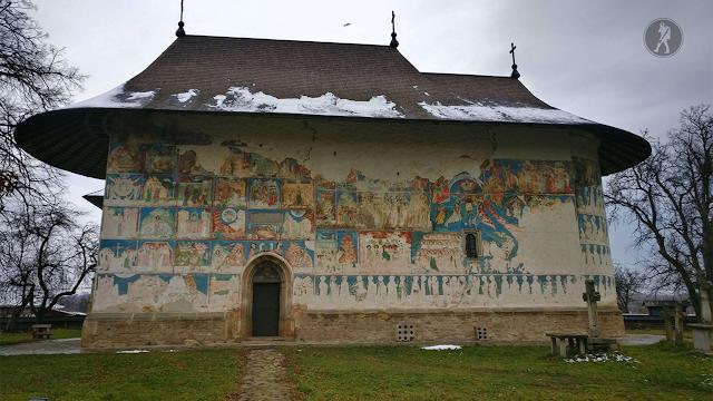 Atracții turistice în Suceava: Biserica Arbore din satul Arbore