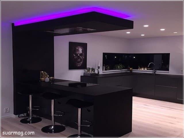 جبس بورد مطابخ 8   Kitchen Gypsum Designs 8