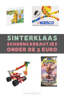 schoencadeautjes tot 5 euro pinterest