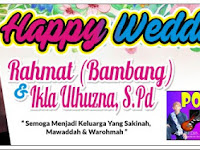 Download Contoh Spanduk Happy Wedding Format CDR