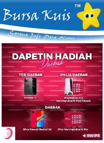 Kuis Online Terbaru Berhadiah iphone 12
