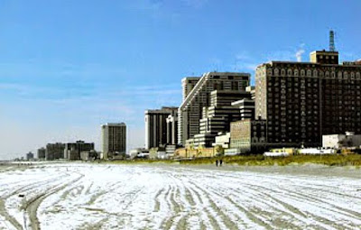 Atlantic City New Jersey in the Winter