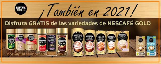 En 2021 también podremos probar gratis Nescafé Gold