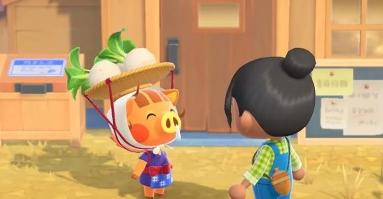 How to get turnips and sell them at the best price in Animal Crossing: New Horizons