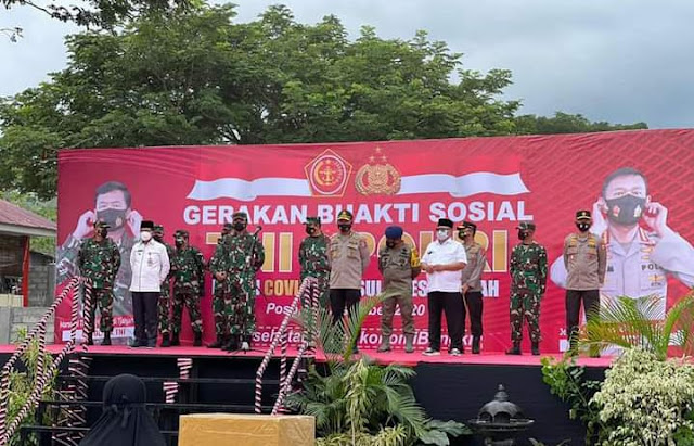 TNI-Polri Gelar Gerakan Baksos dan Dialog Lintas Agama - Pemuda di Poso