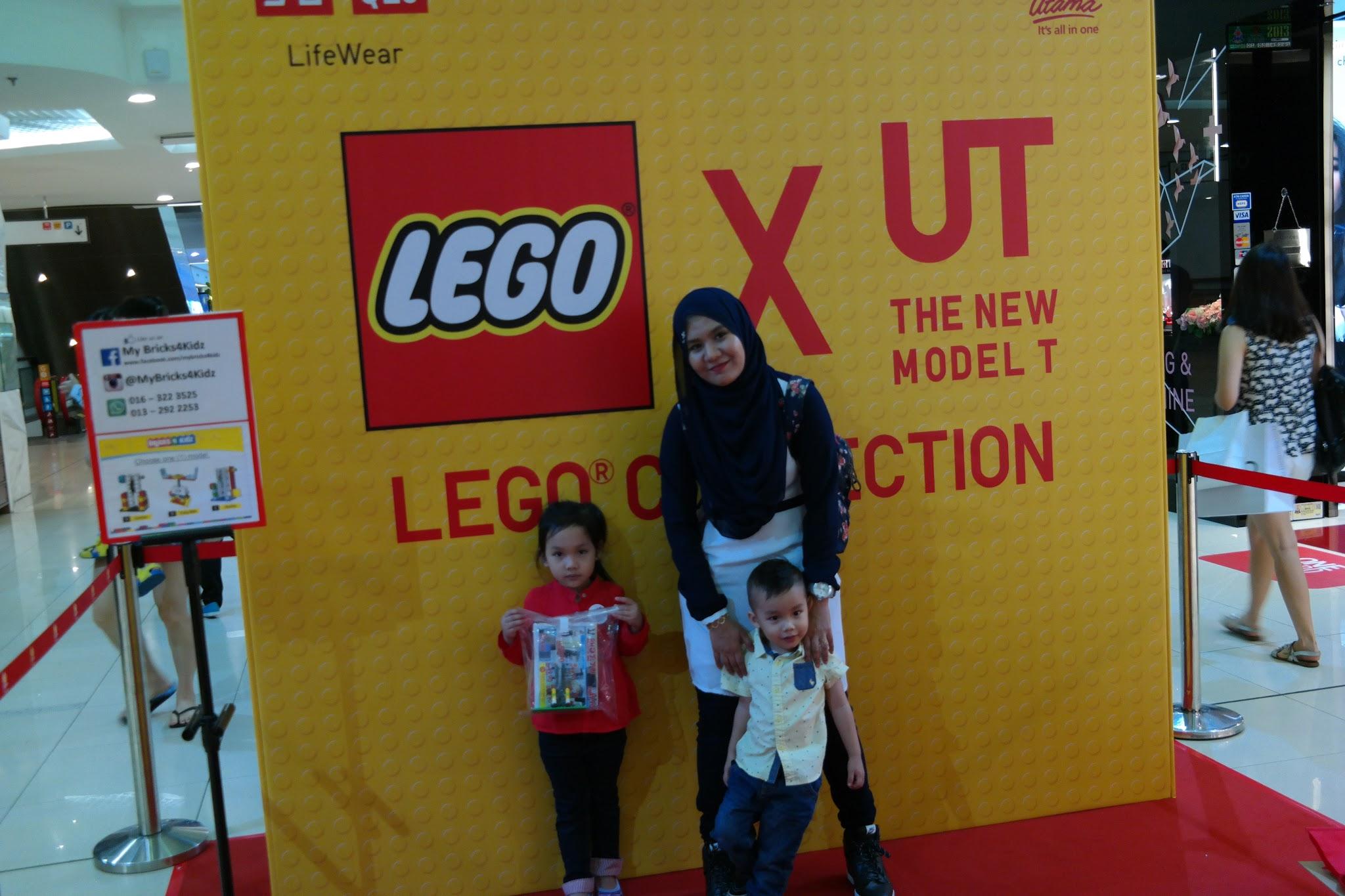 Uniqlo X UT, New T Lego Collection Events, uniqlo, uniqlo malaysia, nuffnang, nuffnang events, lego with kids, lego tshirt, UT Lego,
