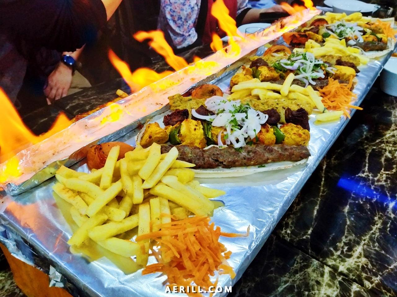 Makan Makanan Timur Tengah di Syrian House Restaurant, Kampung Baru, KL