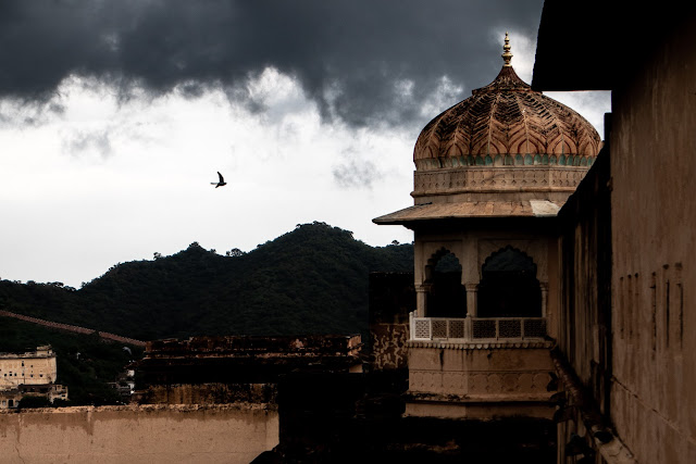 Amer Fort or Amber Fort Jaipur Rajasthan India Royalty Free Stock Images pictures
