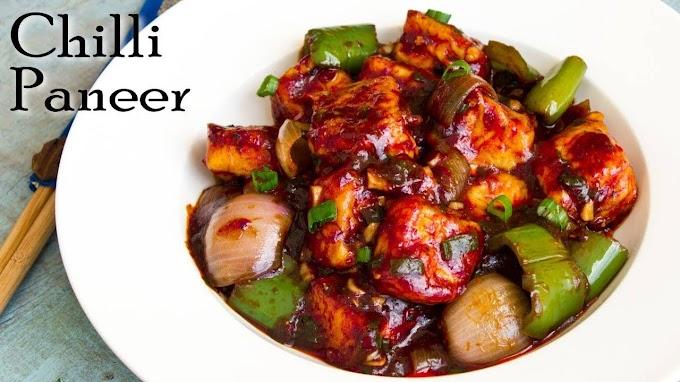 Chili Paneer Recipe Easy Homemade Restaurant style