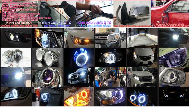 Gương kính xe hơi ô tô
