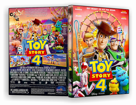 DVD - Toy Story 4 - ISO