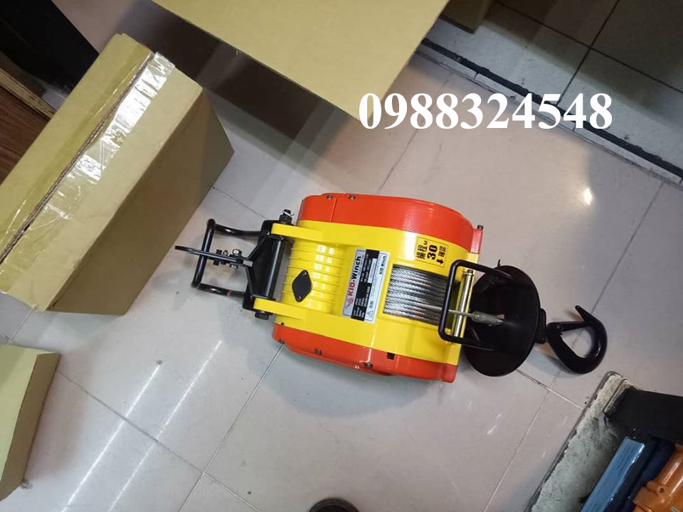 Tời cáp điện KIO SRT-200 200kg