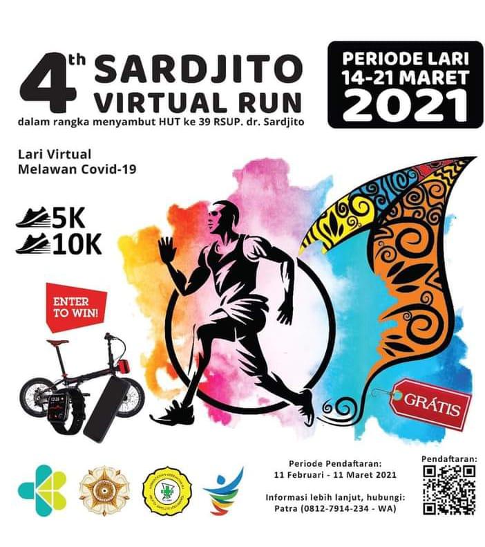 Sardjito Virtual Run • 2021