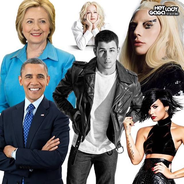 Lady Gaga, Nick Jonas, Barack Obama, Hillary Clinton y más honrarán a víctimas de Orlando en recaudación de fondos