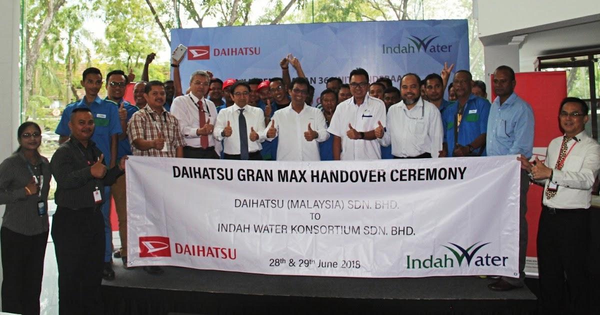 3ca790a29b Daihatsu Malaysia Delivers 36 Units of the Daihatsu Gran Max Semi Panel Vans  to Indah Water Konsortium – Auto Breaking News