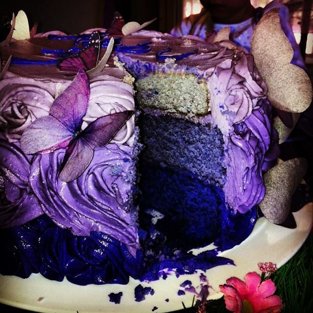 ~ I'M NOT MESSY... I'M JUST BUSY ~: Butterfly Birthday Cake