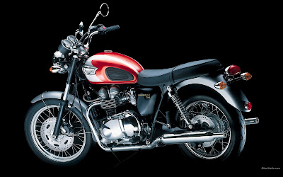 2016 Triumph Bonneville T100 Red wallpaper