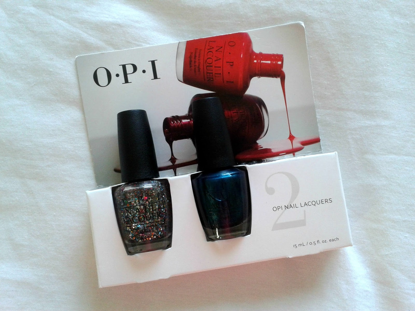 OPI Double Pack (Chasing Rainbows and I Saw it on Teal-ivision) Nail Polishes TJ Maxx Beauty Haul
