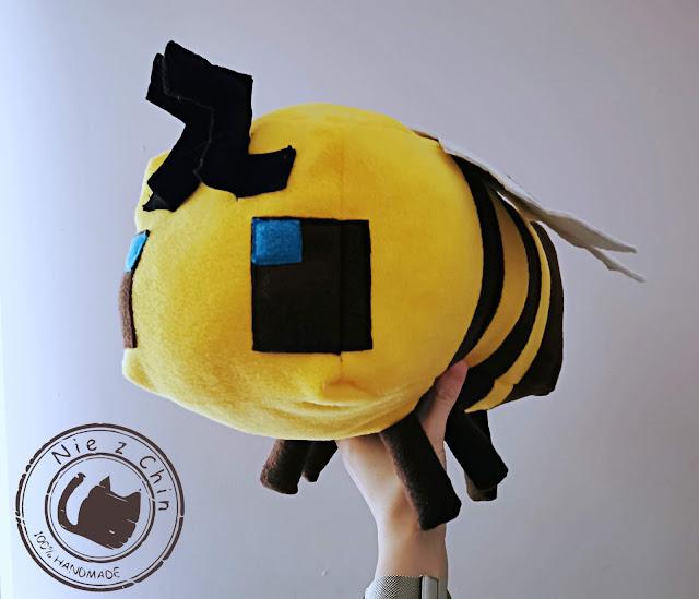 Pszczoła z Minecraft
