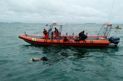 Pria 40 Tahun Ditemukan MD, Diduga Jatuh dari Speedboat
