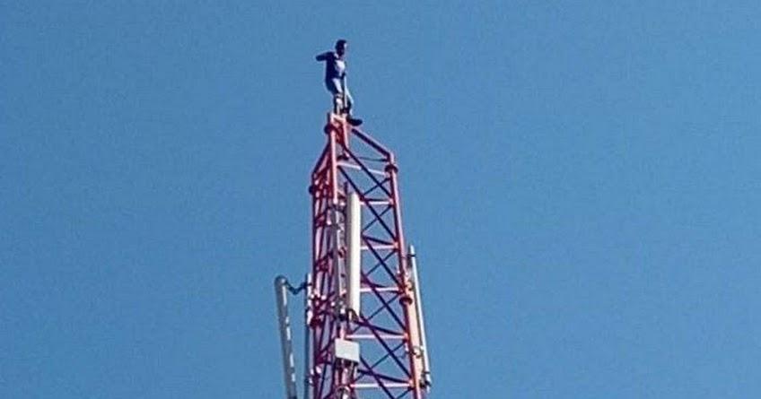 K3LH bekerja di ketinggian
