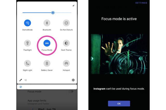 هذا التطبيق يمنحك ميزات الرفاهية الرقمية المستقبلية و الجديدة لنظام أندرويد Q في هاتفك مهما كان نوعه