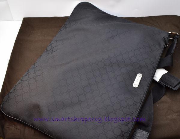 176427469c7d13 Queenie's bag boutique: Gucci 190628 Cross Body Messenger Laptop Case