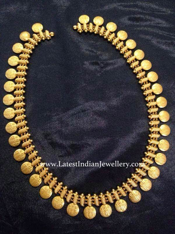 Classic Ram Sita Kasu Haram Latest Indian Jewellery Designs
