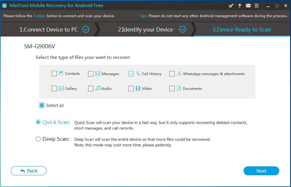 Methods to Recover Deleted Browsing History from Android