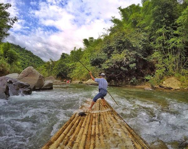 Bambu Rafting Sungai Amandit