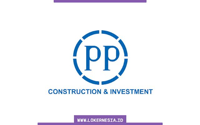 Lowongan Kerja BUMN PT PP (Persero) Desember 2020