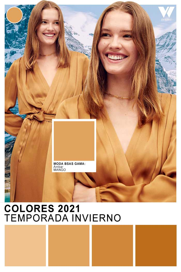 Vestidos de moda │ Colores de mopda otoño invierno 2021
