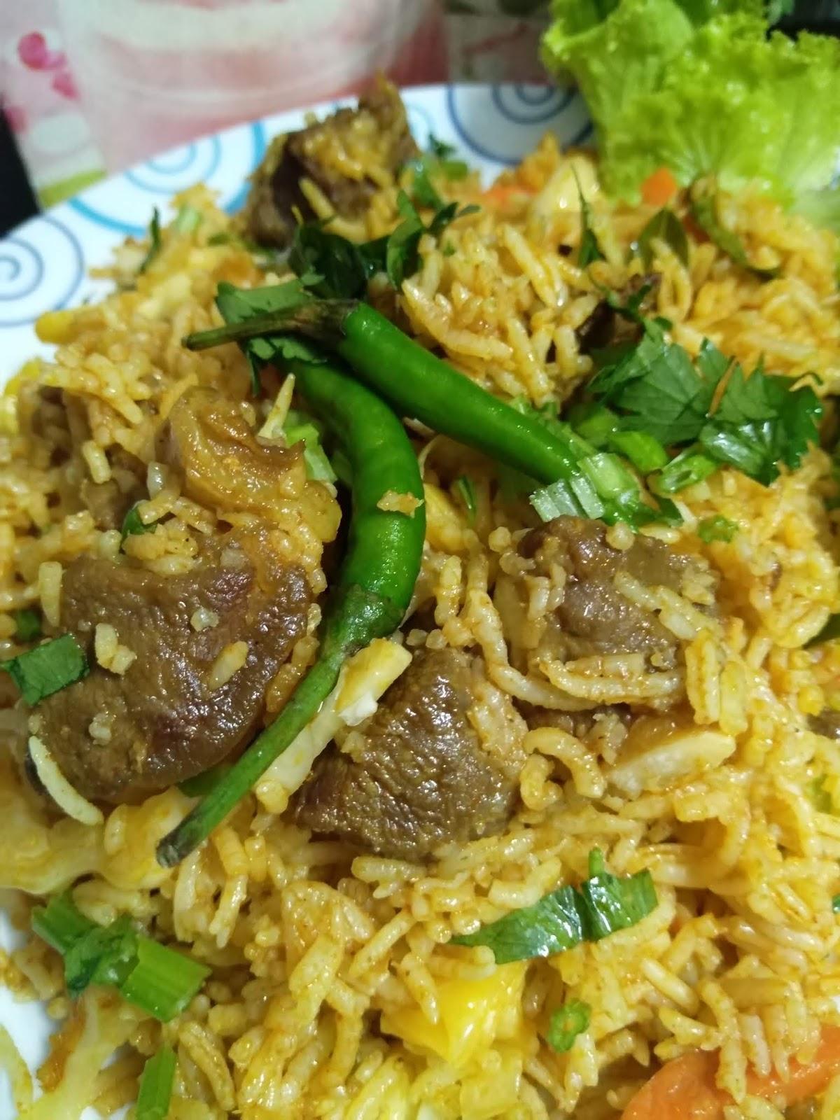 Namakucella Nasi Goreng Kambing Sedap