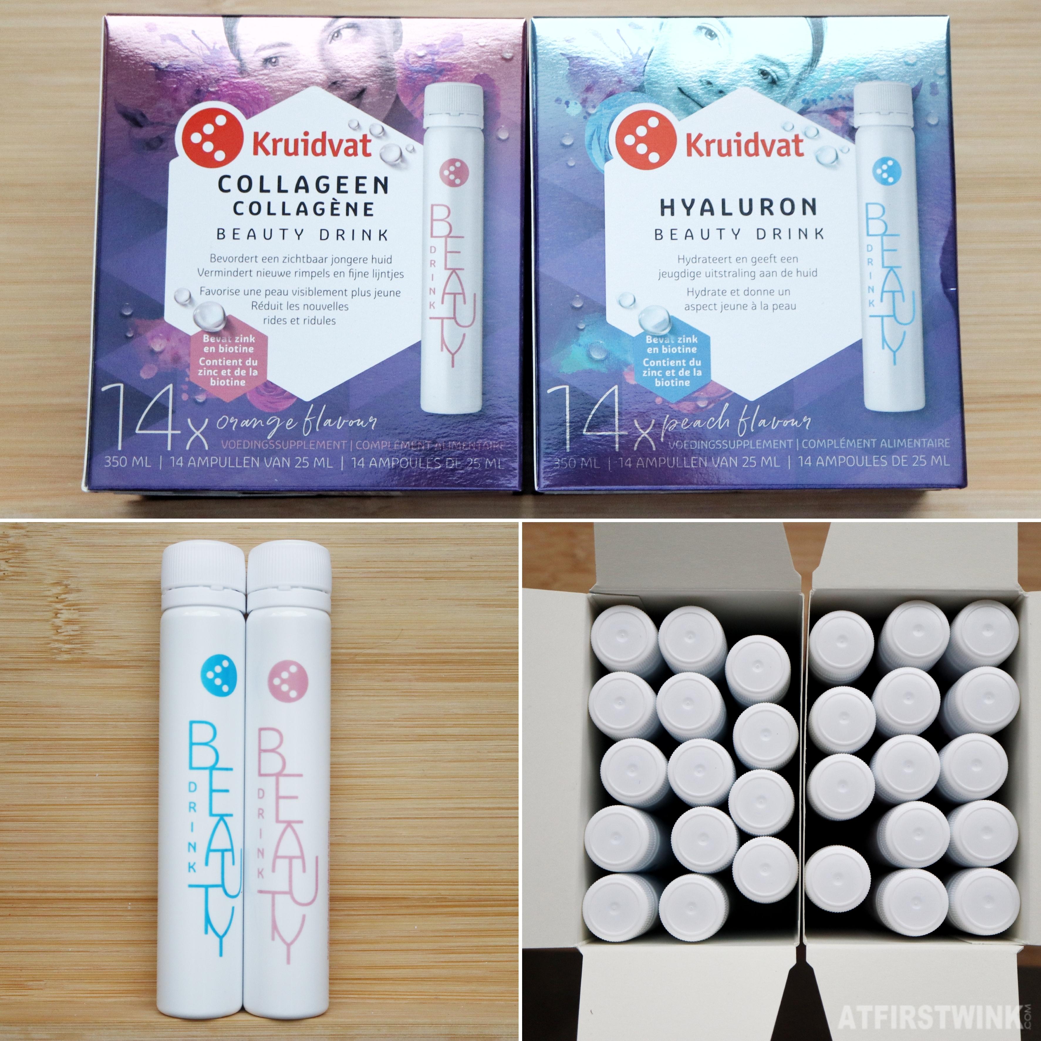Kruidvat hyaluron collagen beauty drinks review