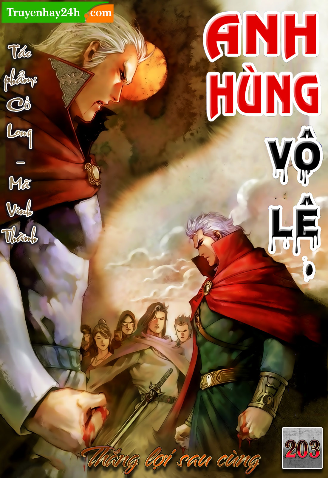 Anh Hùng Vô Lệ Chap 203.5