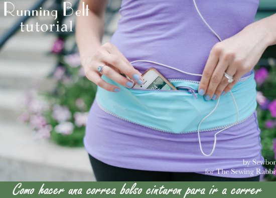 Bolso running adaptable a la cintura tutorial