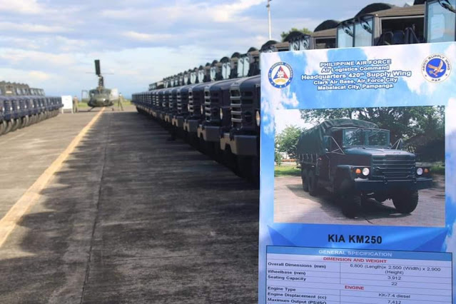 Kia KM250 6x6 Trucks Acquisition Project of the Philippine Air Force