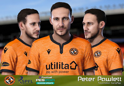 PES 2021 Faces Peter Pawlett by CongNgo