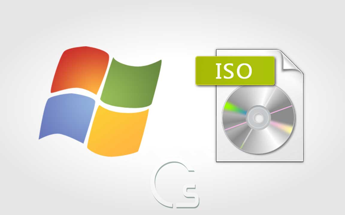 تحويل نظام تشغيل ويندوز الى ISO بدون برامج