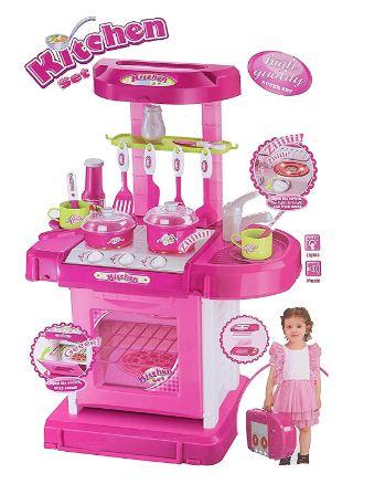 Zest 4 Toyz Kitchen Set for Kids Girls Big Cooking Set for Girls / Boys