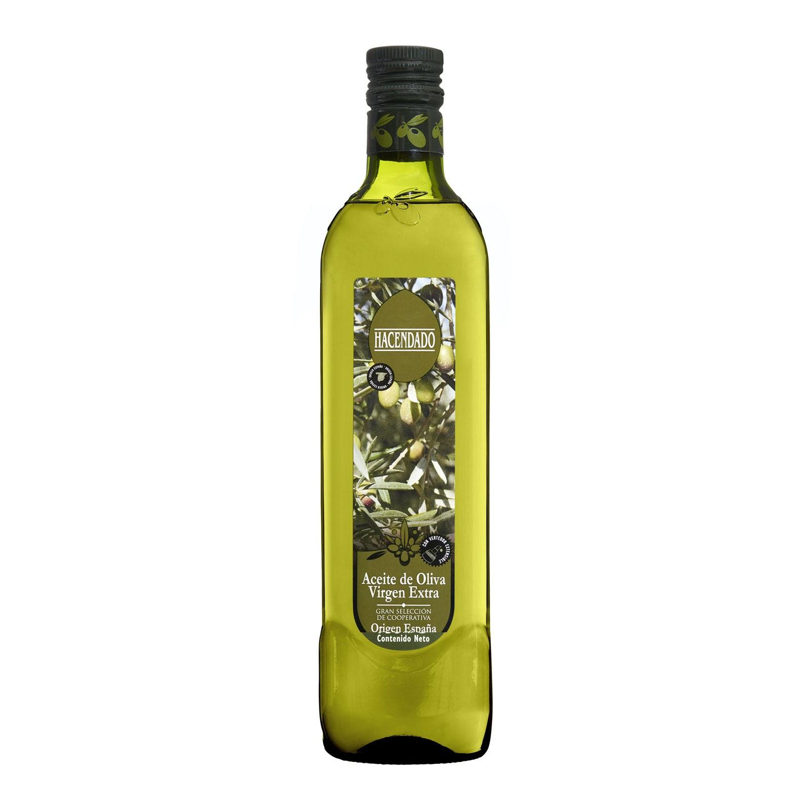 Aceite de oliva virgen extra gran selección Hacendado