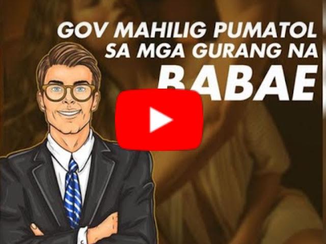 WATCH: Isang Gobernor Mahilig na Mambabae, Huli