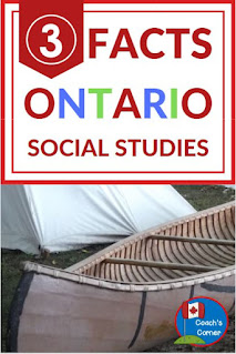 Why was the Ontario Social Studies Curriculum revised in 2018?  Check out this blog post to learn which strands and grades were affected in the revised curriculum.  Hint:  Not all grade levels and strands of the social studies curriculum were changed!  were changed!