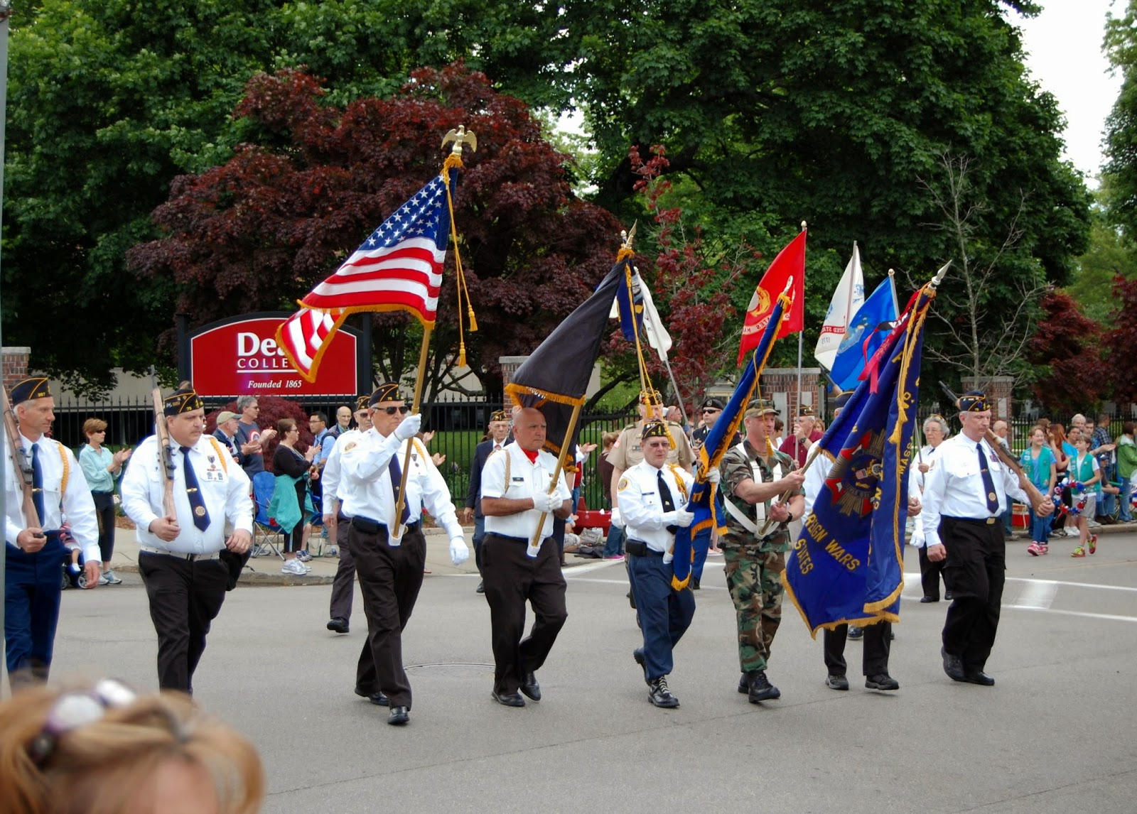 honor guard from 2014 parade