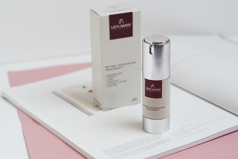 Merumaya Retinol Resurfacing Treatment Review | Colours and Carousels - Scottish Lifestyle, Beauty and Fashion blog